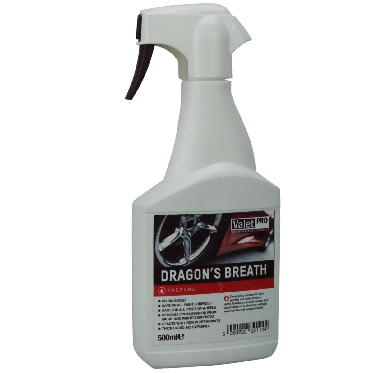 Valet Pro Dragon's Breath Iron Contamination Remover 500ml ValetPRO