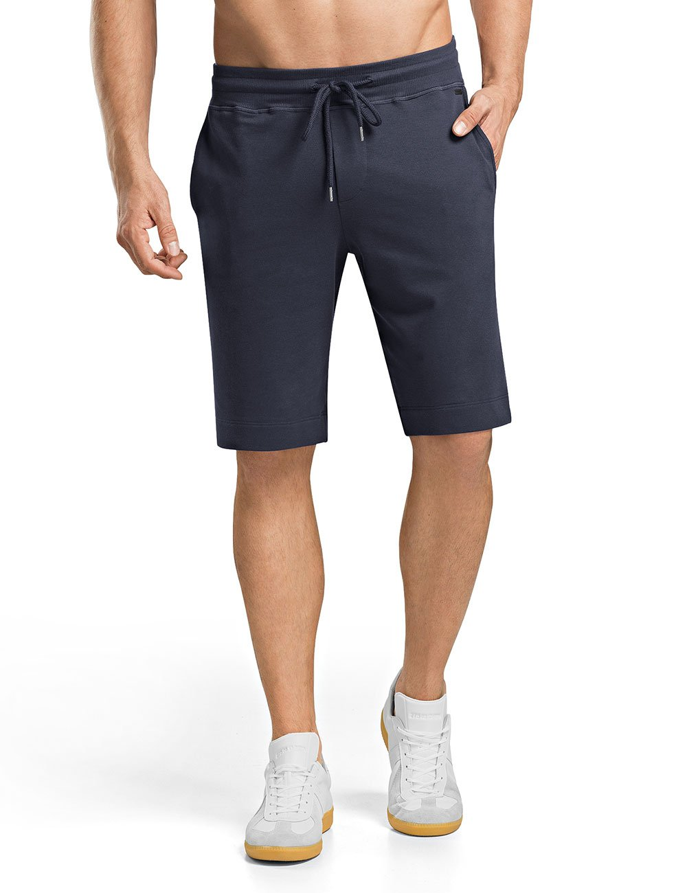Hanro Men's Living Short Lounge Pant, Black Iris, Medium by HANRO (Image #1)