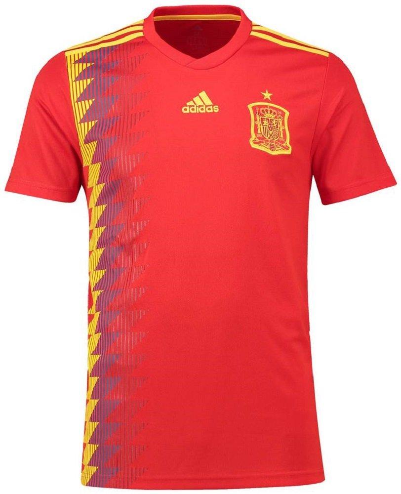 adidas(アディダス) サッカー スペイン代表 ホームユニフォーム 2018 Soccer Spain National Team Home Shirt 2018 [並行輸入品] B07DRLY426 インポートL|22 イスコ / Isco  インポートL