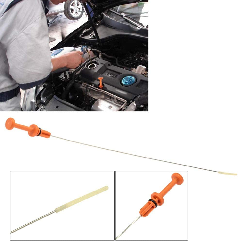 ZYElroy Stainless Steel 565mm Auto Engine Oil Dipstick Replacement for Peugeot 106 206 306 307 117475