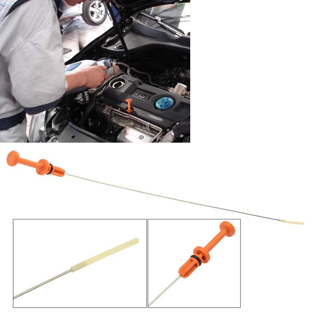 Pegcduu Acero Inoxidable 565 mm de reemplazo autom/ático de Aceite del Motor Tira reactiva para 106 206 306 307 117 475