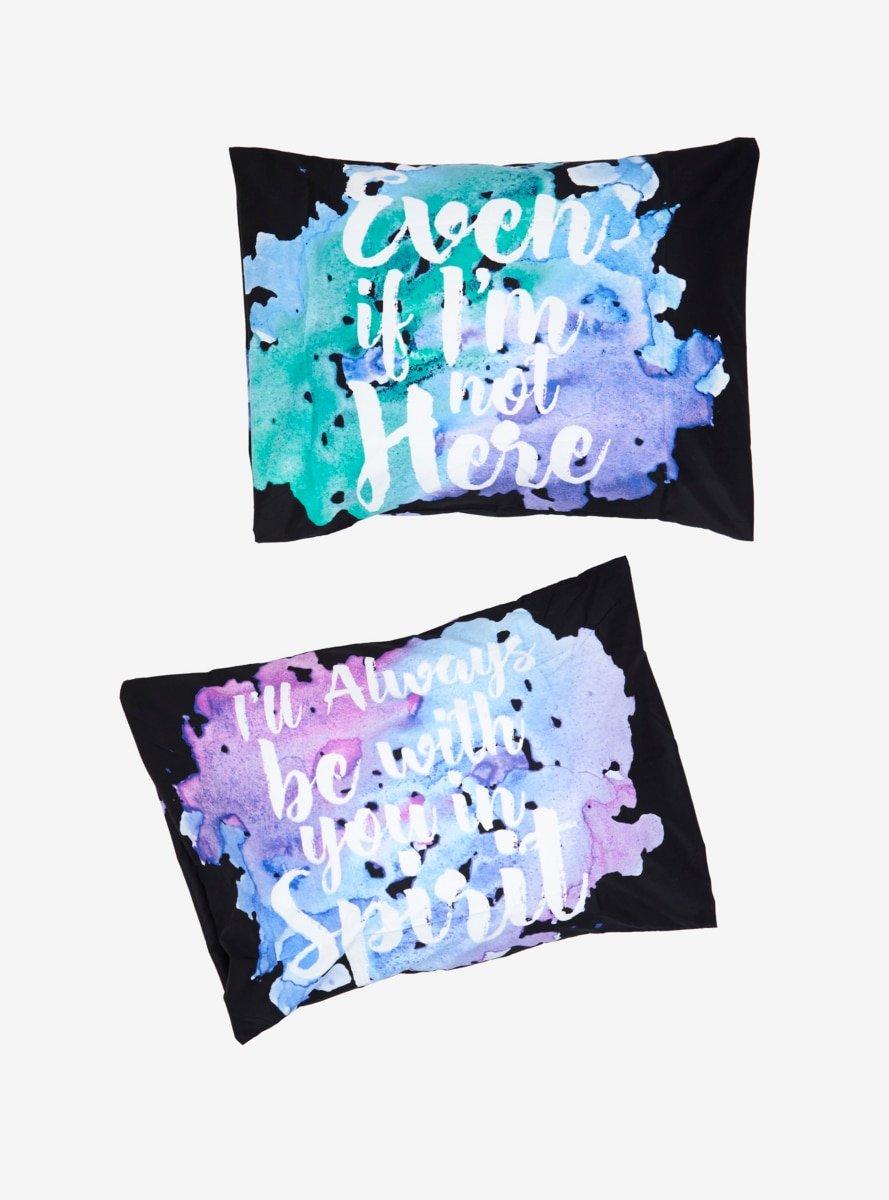 Hot Topic Yuri!!! On ICE in Spirit Watercolor Pillowcase Set