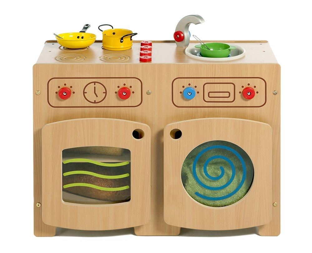 Inspirational Nurseries PT249 Modular Kitchen 1 Beech Toy