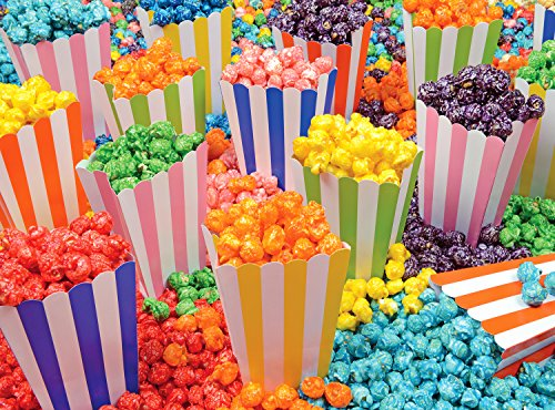 Popcorn Party Yummy Collection 300 pc Puzzle - Popcorn Collection