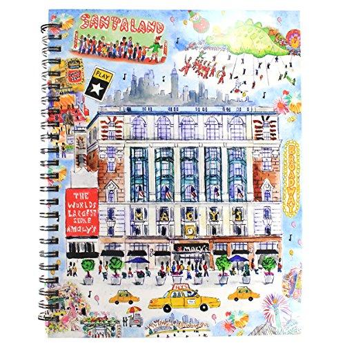 Michael Storrings New York in Four Seasons 8.5 x 6.5-in Macy's Sketch Journal - New York Outlet Macy's