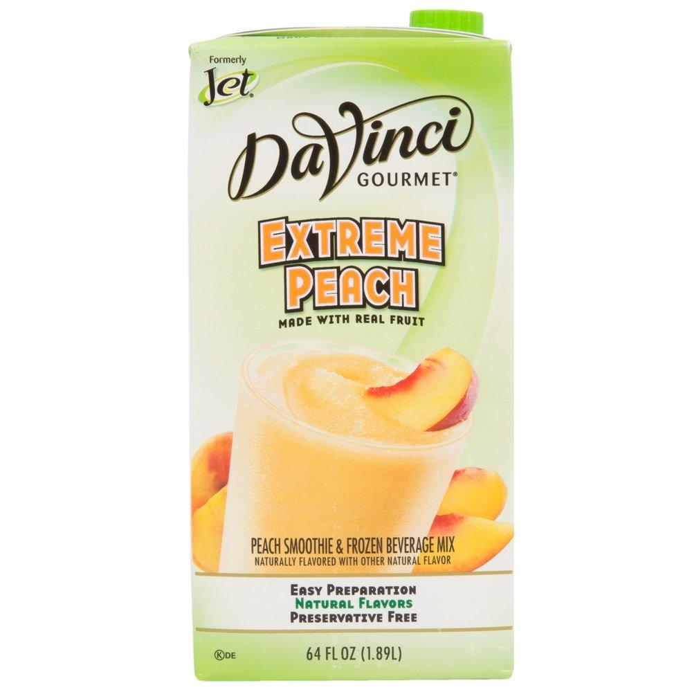 DaVinci Gourmet Extreme Peach Smoothie Mix 64 oz