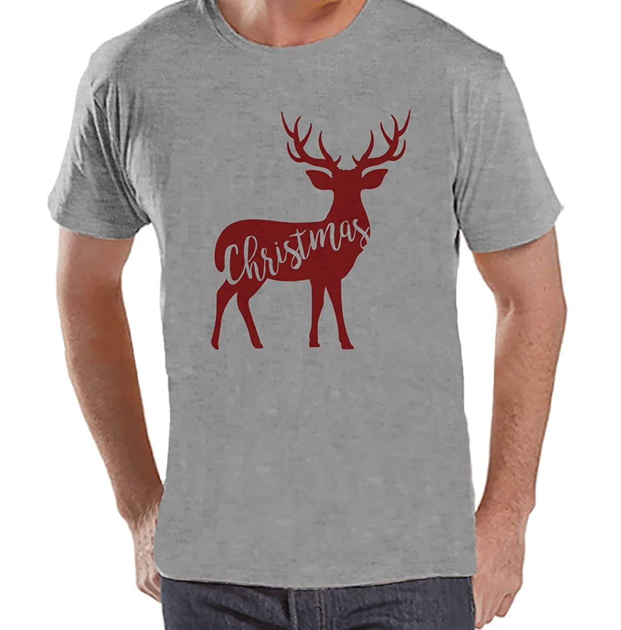 Custom Party Shop Mens Deer Christmas T-Shirt