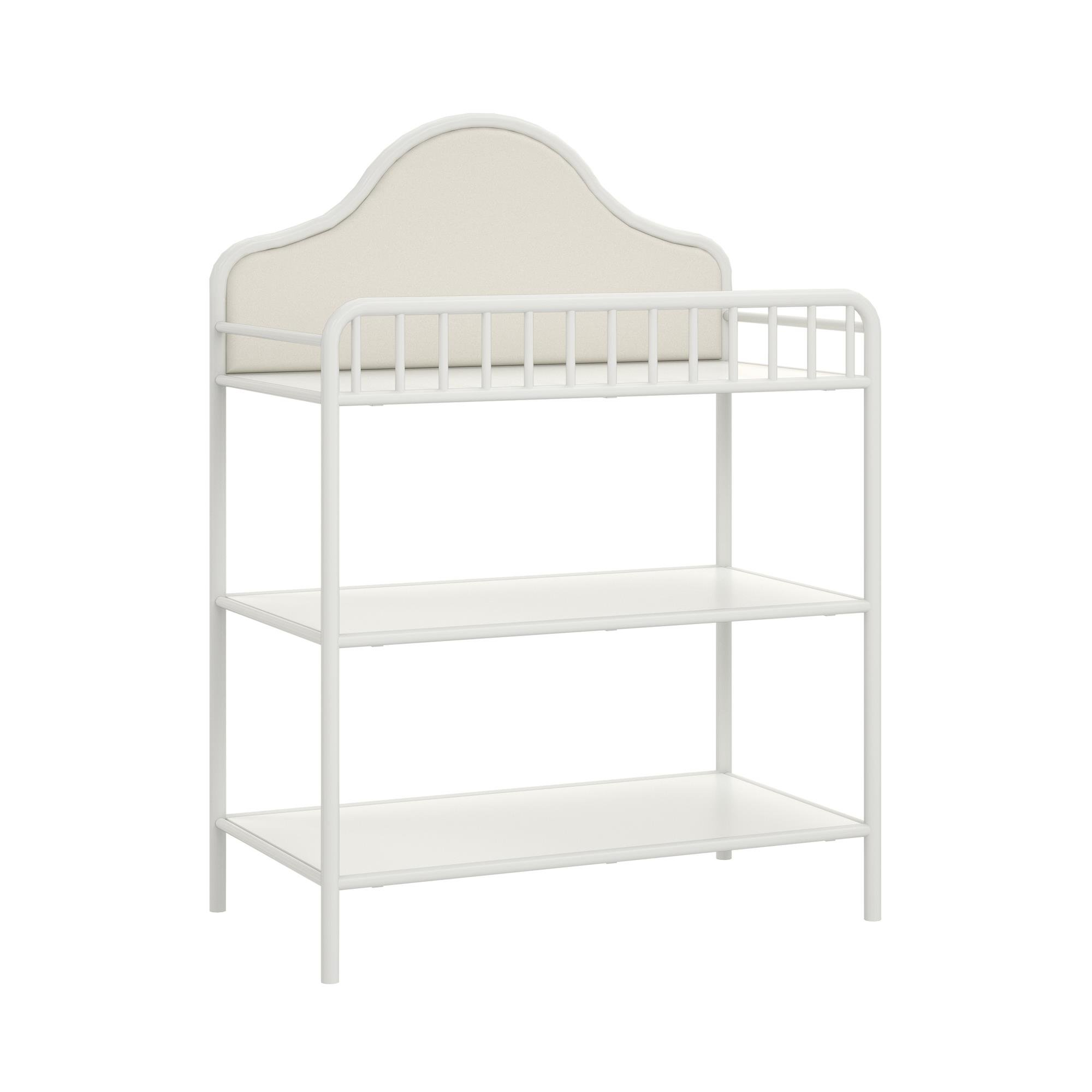 Little Seeds Piper Metal Changing Table, Cream