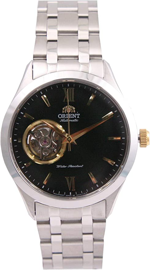 [オリエント]ORIENT 腕時計 OPEN HEART AUTOMATIC オープンハート オートマチック FAG03002B0 メンズ [並行輸入品]