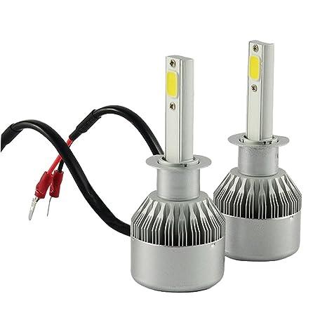 TXVSO8 H1 110W LED COB Luces Delanteras del Coche Kit 9200LM 6000K Lámparas de luz Blanca