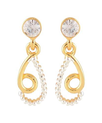 2e66096eb26a2 Estelle Lead Free 24Ct Gold Plated Dangle & Drop Earrings for Women  (Banarasia494)