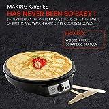 Lumme Crepe Maker - Nonstick 12-inch Breakfast