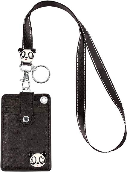 Key Holder Neck Phone Strap Lanyard Cartoon 1 x Lanyard ID Badge card holder