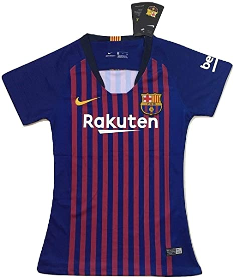 Image Unavailable. Image not available for. Color  Scshirt Women s FC  Barcelona 2018-2019 Home Soccer Jersey ... 629cc5f42