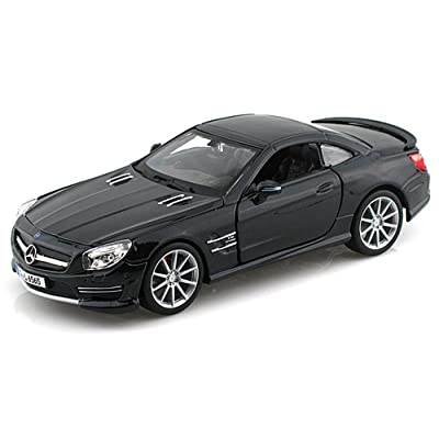 Bburago Mercedes-Benz SL65 AMG, Black 21066 - 1/24 scale Diecast Model Toy Car: Toys & Games