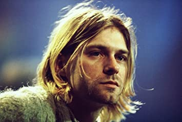 Amazon Com Xxw Artwork Kurt Cobain Poster Songwriter