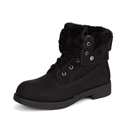 DREAM PAIRS Women's Montreal Faux Fur Ankle Bootie | Shoes