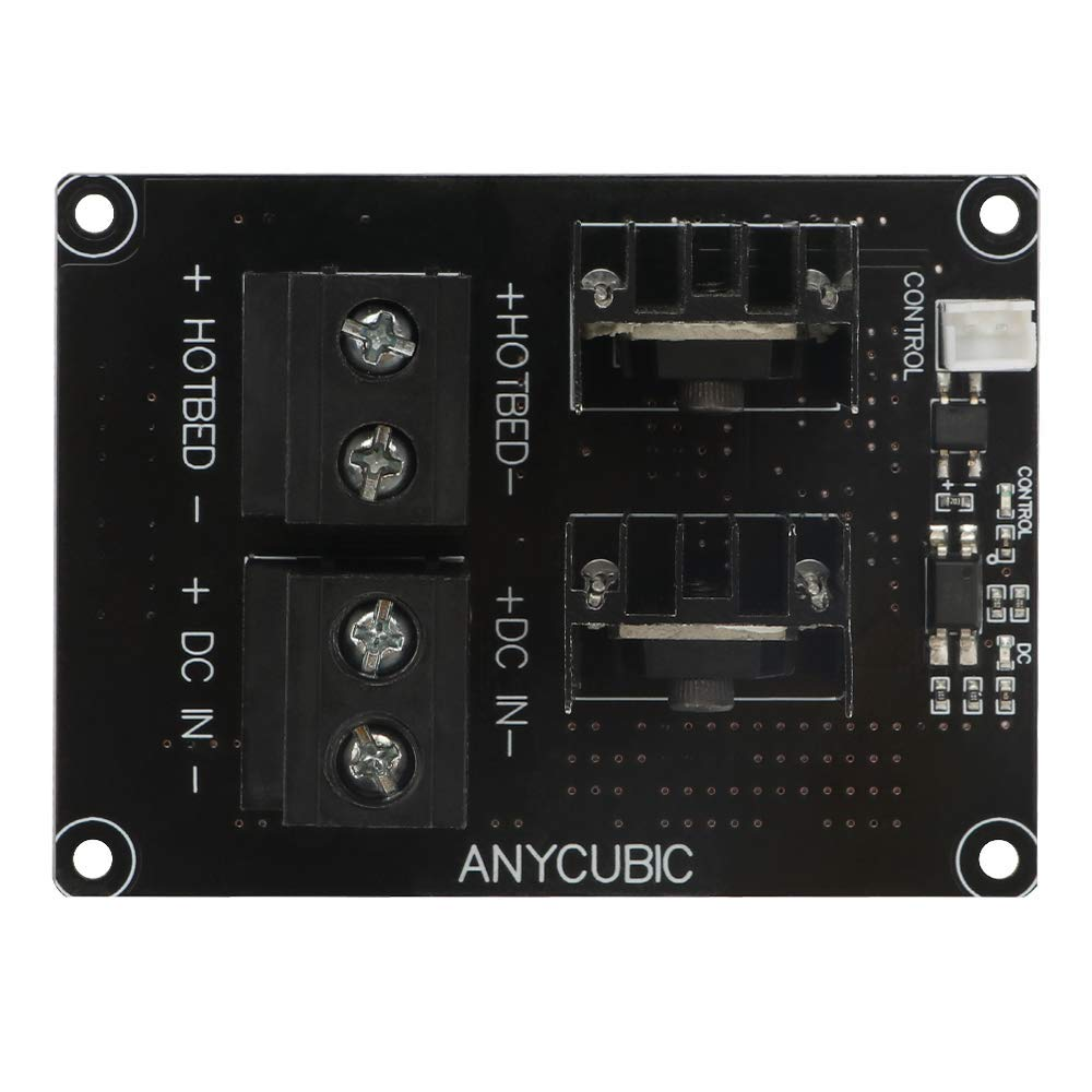 TRIGORILLA ANYCUBIC DC 24V Hotbed Driver Board Power Module MOS Tube Module for Heated Bed Ultrabase of Chiron 3D Printer