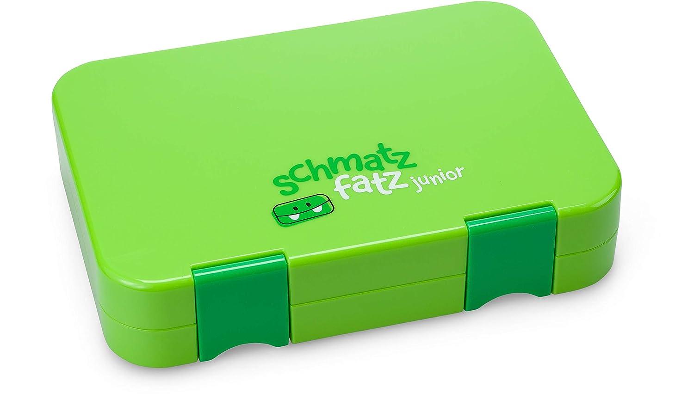 Blau schmatzfatz junior Kinder Lunchbox Bento Box mit variablen F/ächern
