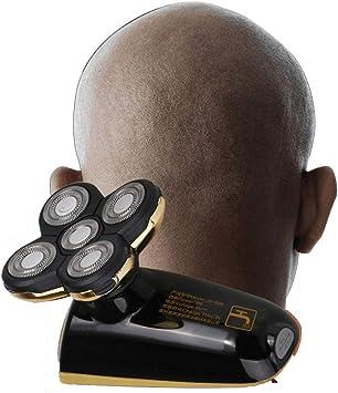 SEVERY Afeitadora eléctrica giratoria de 360 Pulgadas para Hombres ...