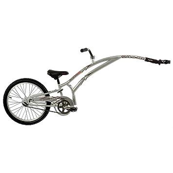 amazon trail a bike jr compact folder silver by trail a bike