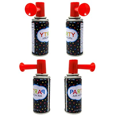 10 Air Horn Small Noise Maker Perfect for Parties, Baby Showers, Sports Events or any other Fun Activity Wholesale Bulk Lot: Toys & Games
