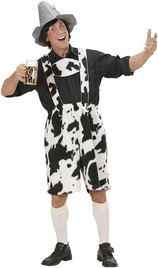 Pantalón Lederhosen Vaca de peluche disfraz Carnaval * 20083 ...