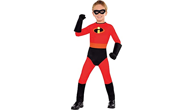 amscan the incredibles dash halloween costume for boys 2t with included accessories