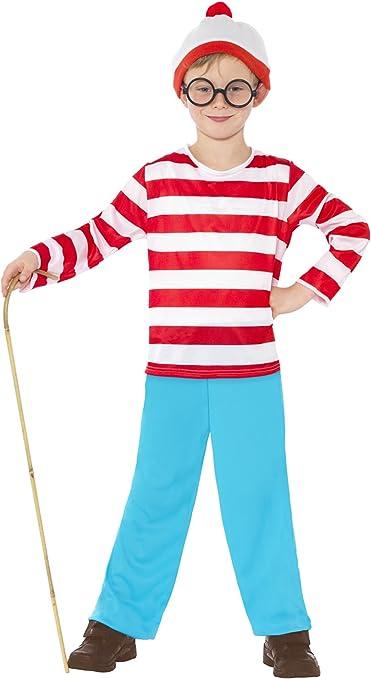 Smiffys - Disfraz de Wally para niño, talla M (7-9 años) (39971M ...