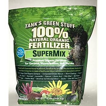 Tank's Green Stuff 100% Organic SuperMix Fertilizer