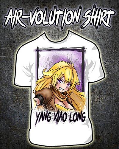 Personalized Airbrushed RWBY Yang Xiao Long Shirt ()
