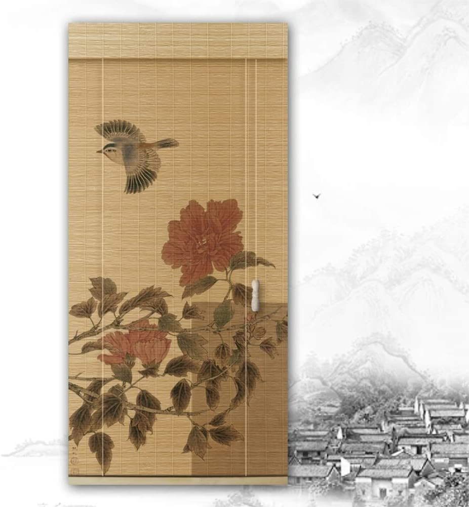 Amazon Com Bamboo Roller Blind Roller Blind Bamboo Roman Roller Blinds Roller Blinds Wooden Roller Blind Funny Painted Characters Window Treatment Internal External Install Shade Color C Size 90x180cm Home Kitchen