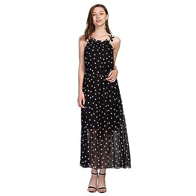 Maxi kleider sommer schwarz