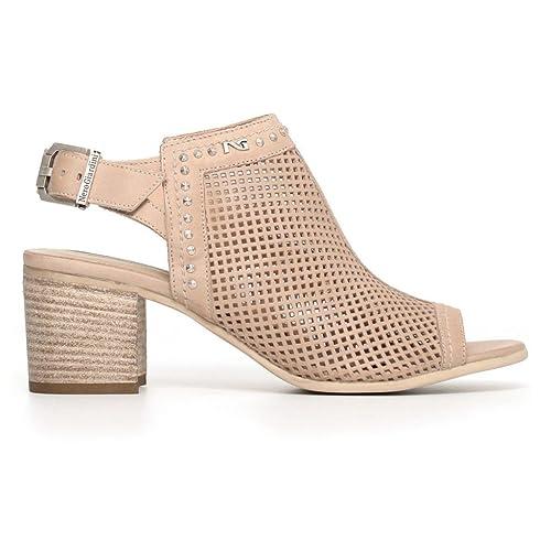 Sandalo NERO GIARDINI P805721D Color Nero