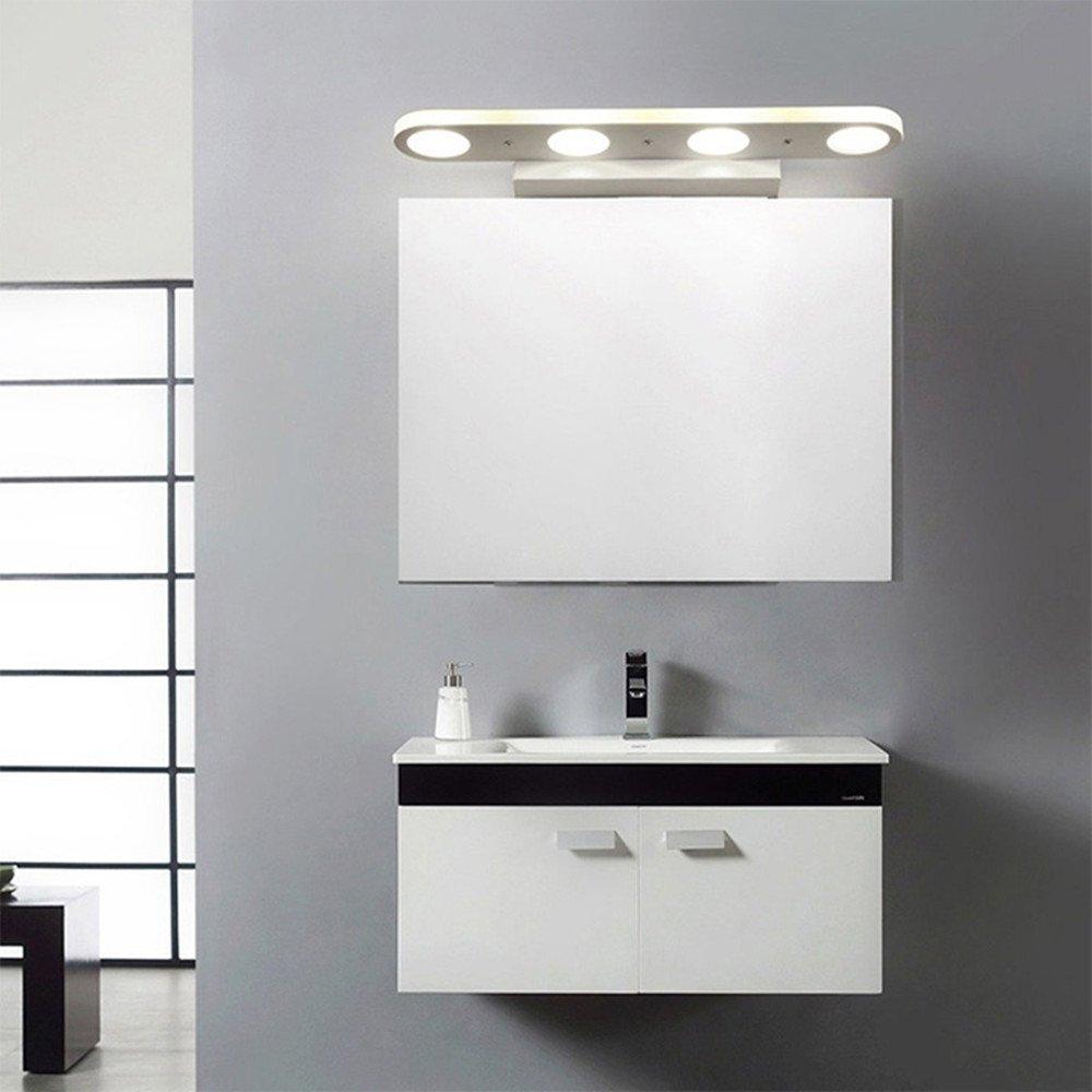 ZHMA 12W Makeup Mirror Light,LED Acrylic Bath Mirror Lamp,Mirror Front  Make Up Lighting,Wall ...