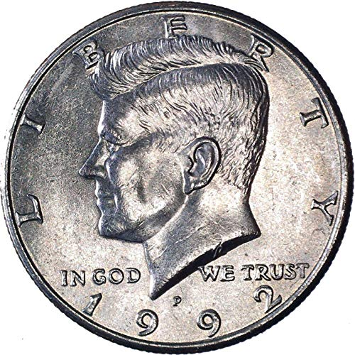 1992 P Kennedy Half Dollar 50C About Uncirculated