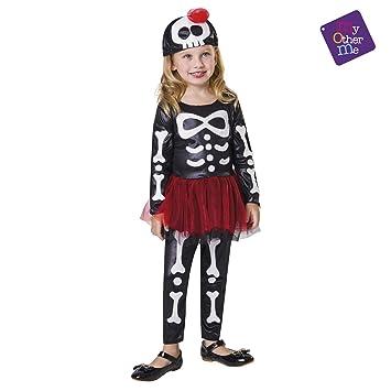 VIVING - Disfraz Esqueleto tutu1-2 años: Amazon.es: Juguetes y juegos