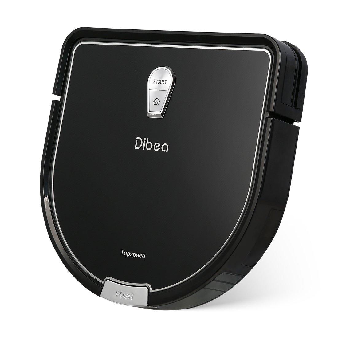 Acquisto Dibea D960 Robot Aspirapolvere Lavapavimenti Serbatoio d'Acqua Incorporato per e Potente ed Autonomo per Polvere, Briciole, Filtro HEPA per Pelo Animale e Allergeni, Nero Prezzo offerta