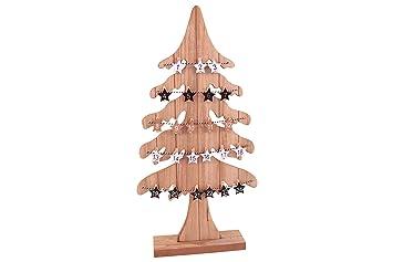 Tannenbaum Adventskalender Holz.Posten Börse Xmas Adventskalender Tannenbaum Holz Mit Holzklammern