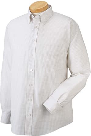 e38835f131a Image Unavailable. Image not available for. Colour  Chestnut Hill Men s  Long Sleeve Executive Performance Broadcloth Button Down Dress Shirt ...