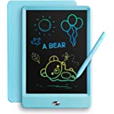 TEKFUN LCD Writing Tablet Doodle Board, 8.5inch Colorful Drawing Tablet Writing Pad, Boys Gifts Toys for 3 4 5 6 7 Year Old B