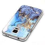 Galaxy S5 Case,Vfunn [ Marble Series ] Slim Fit
