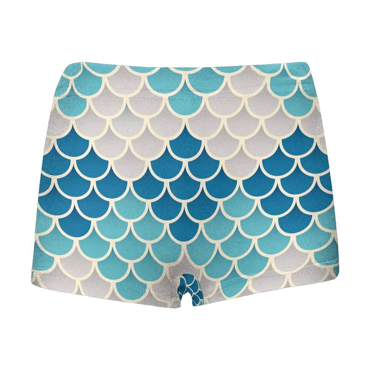 INTERESTPRINT Boys Fish Scales Boxer Brief Underwear 5T-2XL