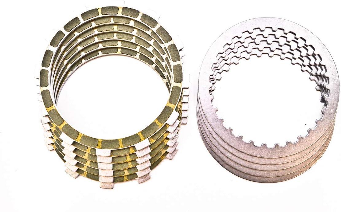 6 Friction + 5 Steel Barnett Clutch Plate Kit for 84-86 Honda VT700C Shadow