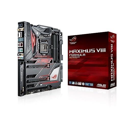 6 opinioni per Asus Maximus VIII Formula Gaming Scheda Madre, Nero/Rosso