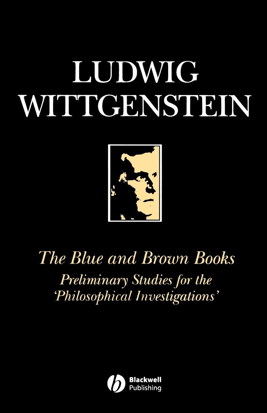 The Blue and Brown Books: Preliminary Studies for the