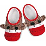 Sock Monkey Knit Footie Slipper Socks