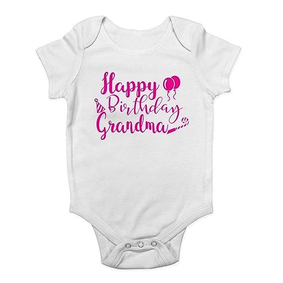 Promini Mono para bebé - Feliz cumpleaños Abuela Rosa - Body ...
