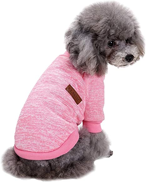Fashion Focus On Pet Dog Clothes Knitwear Dog Sweater