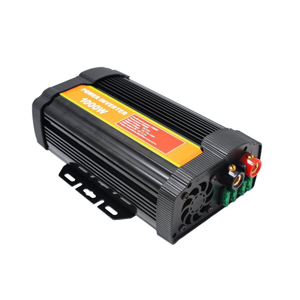1000 Watt 12V Power Inverter Dual 110V AC Outlets with 2.1A Dual USB Car Adapter for Blenders, Vacuums, Power Tools. by SPEAUTO (Image #3)